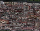 Vintage Rajasthani Black Patchwork Wall Hanging