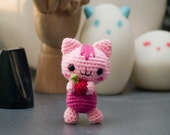 RESERVERD FOR CAROLYN - Amigurumi Baby Cat