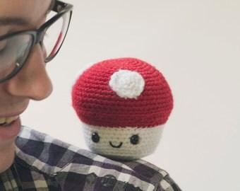 Amigurumi Mushroom - Crochet Pattern
