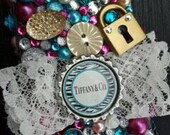Custom made Tiffany  &  Co - Bling decoden rhinestone cell phone case