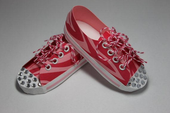 Pink Paper Converse Twinkle Toes