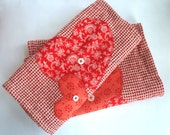 Heart Hand Towels - Set of Two
