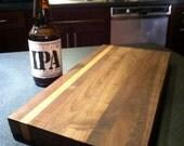 Walnut cutting board, cheese board, or server