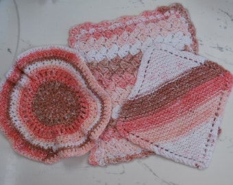 cotton dish cloths