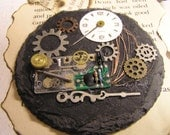 Steampunk Paperweight by Gates of O'brillin