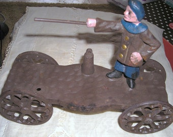 Reduced Price Cast Iron  Wagon /  Cast Iron  Artillery Wagon / USA Shipping Only