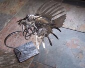 Lion Fish Metal Sculpture