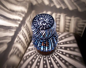 Brazed Tin Can Lamp