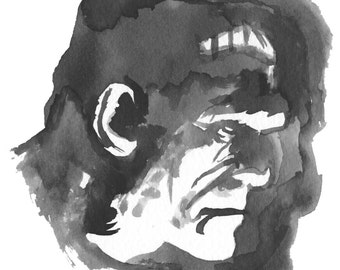 Frankenstein's Monster 5x7
