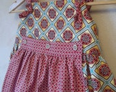 Tie Top and Ruffle Pants Set Size 7