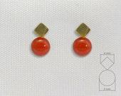 Earrings Baby 18Kt gold. (AR 245-4)
