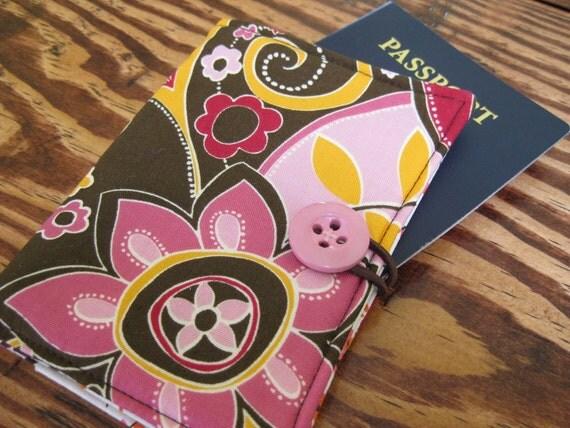 Flower Passport Case
