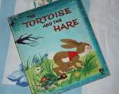 The Tortoise And The Hare 1963 - Whitman Top Top Tale, Fuzzy Wuzzy book