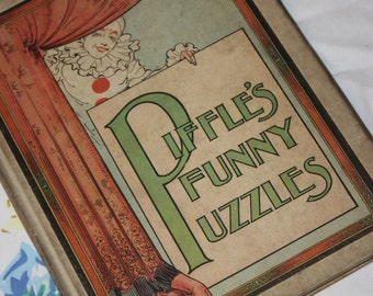 Piffle's Funny Puzzles 1917- Henry Altemus Company