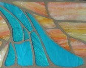 Stained Glass Mosaic Wall Art: Landscape
