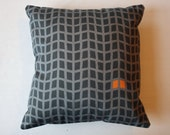 Kirsty Newman 'Concrete' Cushion Cover. 100% Cotton.