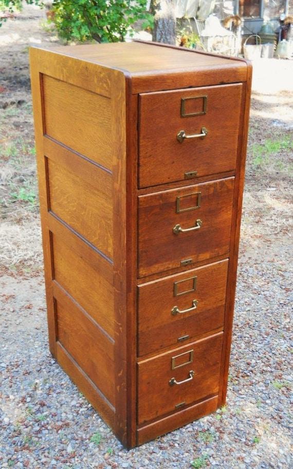 ... Oak Filing Cabinet. ◅