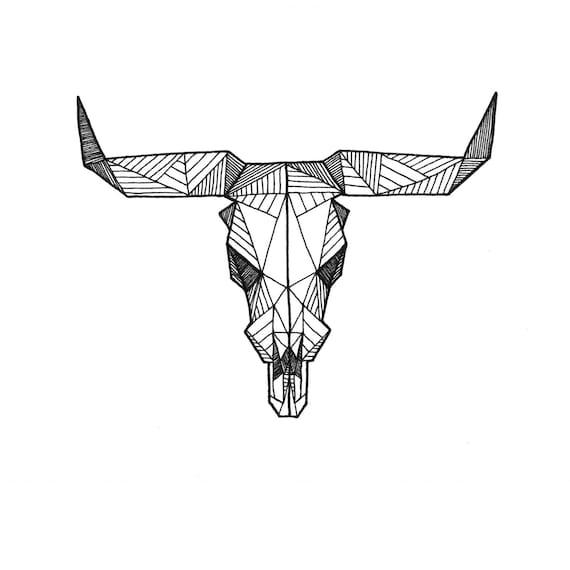 il 570xN 320994946 jpgTaurus Bull Drawing