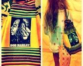 Vintage Bob Marley Zion Backpack