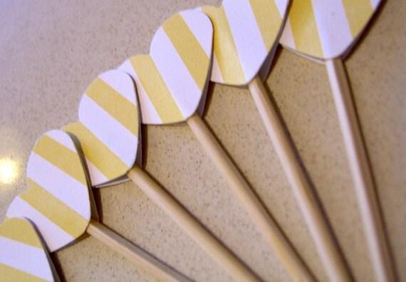 Custom listing for Tara - 24 cupcake toppers