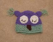 Reserve Listing for Trisha: Sleepy Owl Hat