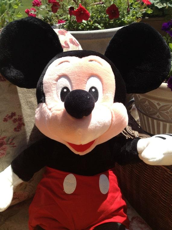 "Sale on Giant  24"" Mickey Mouse Plush Toy circa. 1990"