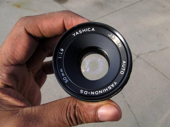 Yashica Yashinon-DS f/1.9 50mm M42/Screw Mount Lens