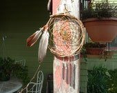 Handwoven Dream Catcher Wind Chime