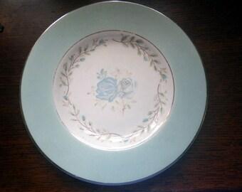 Barratt's Delphatic White Tableware Side Plate in Patricia Blue
