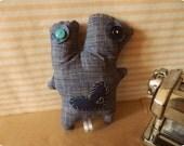 1. INSEPARABILI - Plush handmade in Italy -