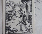 EX LIBRIS, vintage original bookplates from Anton Pieck