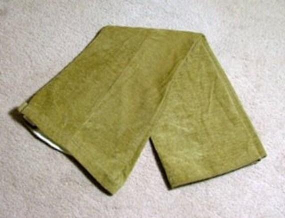 1960's Green Bellbottoms Size 4