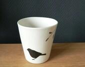 Tasse en porcelaine / Handmade porcelain cup