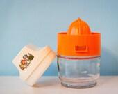 Vintage Citrus Juicer - Gemco Juicer Complete With Presser, Juicer and Collecting Jar