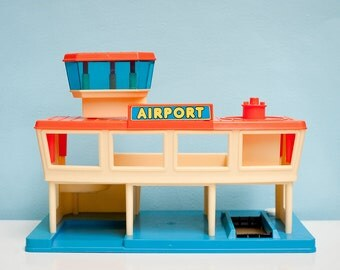 1984 Playworld Toys Airport