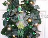 St. Patricks Wreath Ready to Ship