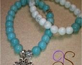 Beaded bracelets set