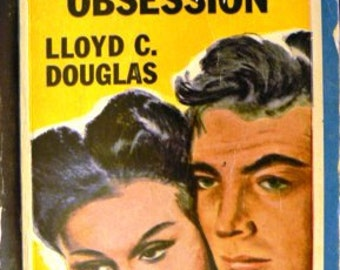vintage paperback ... MAGNIFICENT OBSESSION by Lloyd C Douglas ...