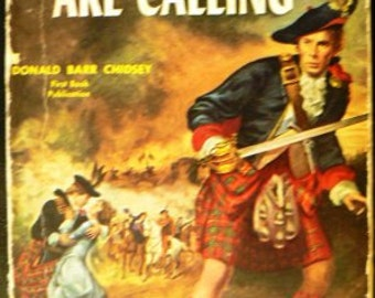 vintage paperback ... The PIPES ARE CALLING by Donald Barr Chidsey   ...