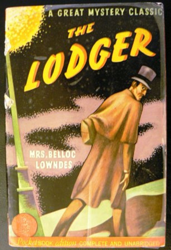 vintage paperback ... THE LODGER ...