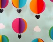Garland - Hot Air Balloons & Clouds - 3D