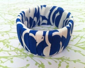 Silk Wrapped Bracelet, 'Imogen'