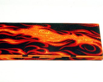 Magic Wallet - Billfold Flames