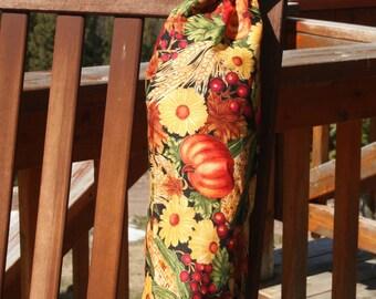 Plastic Bag Holder - Harvest Veggies SMALL