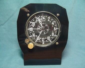 Waltham CDIA military clock--military clock stand