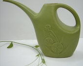 Mid Century Vintage Watering Can Pitcher Lustro Ware