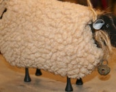 Folk Art Sheep Decor