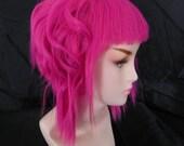 Ramona Flowers Inspired / Neon Puple Pink / Short  A Line Wig Scott Pilgrim vs The World