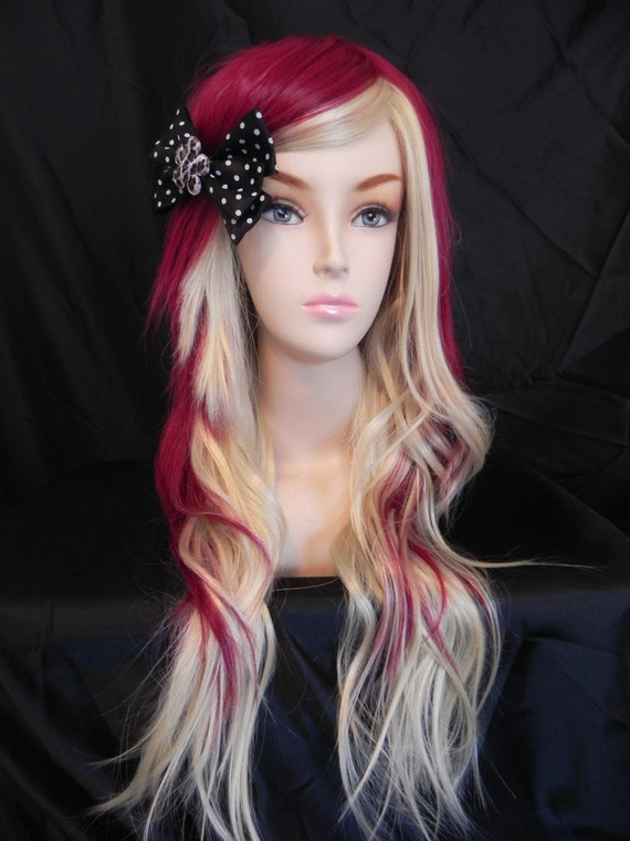 Strawberry Cheesecake Auburn Red And Blonde Long By