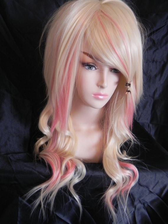 on sale strawberry vanilla blend blonde and pink by exandoh. Black Bedroom Furniture Sets. Home Design Ideas